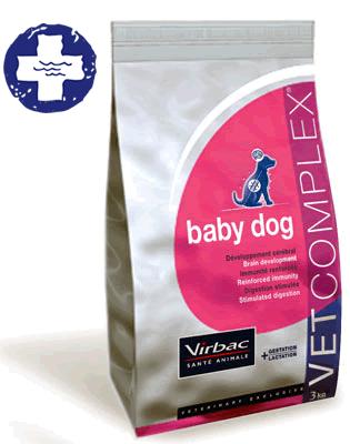 PINSO BABY DOG DE VIRBAC, VINE A L'HOSPITAL VETERINARI DE L'EBRE, ET FAREM UN BON PREU